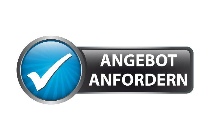 Angebot in Berlin anfordern Button.